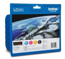 Rašalo kasetė Brother LC985 CMYK | DCP-J125/J315W/J515W/MFC-J220/J265W/J415W