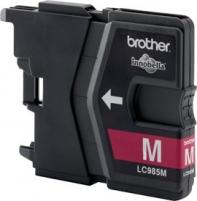 Rašalo kasetė Brother LC985M magenta|260psl |DCPJ125/J315w/J515w/J220/J265w/J410