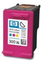 Rašalo kasetė HP 300XL tri-colour | 12ml | D2560/F4272/F4280