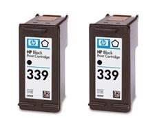 Rašalo kasetė HP 339 black 2pack Vivera | 2x21ml