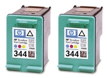 Rašalo kasetė HP 344 tri-colour 2pack Vivera | 2x14ml | PS325/375/8150,DJ Toneri un kārtridži