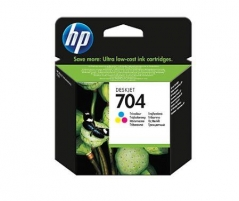 Rašalo kasetė HP 704 tri-colour