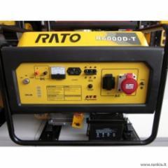 RATO R3000D-T dyzelinis generatorius Dīzelis elektroģeneratoru