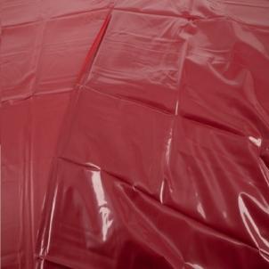 Raudonas PVC patiesalas 200x230 PVC šelionių patalynė