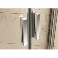 Ravak BLCP4-90 dušo komplekt.: Kabina 90 + padėklas 90+ sifonas Shower enclosures