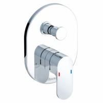 Ravak potinkinis maišytuvas Chrome su jungikliu, skirtas R-box, Vonios maišytuvai