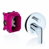 Ravak potinkinis maišytuvas Rosa su jungikliu, skirtas R-box, RS Vonios maišytuvai