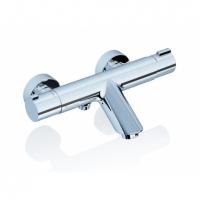Ravak sieninis termostatinis vonios maišytuvas 150 mm , TE 022.0 Thermostatic water mixers