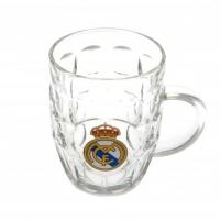 Real Madrid C.F. stiklinis alaus bokalas Sirgalių atributika