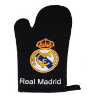Real Madrid C.F. Virtuvės pirštinė (juoda)