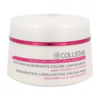 Regenerating Mask for colored hair. Collistar Regenerating Mask Colour Cosmetic 200ml