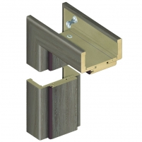 Reguliuojama durų stakta D70 140/159 Ąžuolas pilkas (B476) Koka durvis