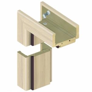 Adjustable door frame INVADO D60 095/114 Coimbra (B402), with rims Veneered doors