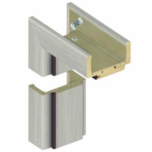 Adjustable door frame INVADO D80 140/159 Forte cedar (B462), with rims Veneered doors