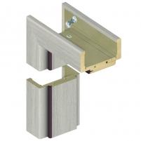 Adjustable door frame INVADO K80 095/114 Forte cedar (B462), with rims Veneered doors