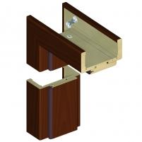 Reguliuojama durų stakta K60 120/139 Kaštonas (B288) Wooden doors