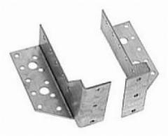 Reguliuojama sijos atrama 95x23x2 (kairinė) Beam supports, galvanized