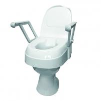 Reguliuojamo aukščio paaukštinimas tualeto sėdynei su dangčiu Bathroom and toilet accessories