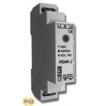Relė fazių sekos, modulinė, 8A, 3F, 400V, Umin 175V, variklių apsaugai nuo fazės dingimo ir sekos, įtampos kritimo, asimetrijos, PZAK-1, ETI 02471409 Citi reed relays