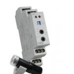 Relė foto, modulinė, 16A, 230V, 0s-2min., 1P perjungiami, su išnešamu IP65 foto jutikliu, SOU-1, ETI 02470011