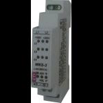 Relė(Kontroleris) tinklo valdymo(trifazio tinklo sutrikimų:įtampos nebuvimo, fazių sekos, asimetrijos, fazės nebuvimo), 230/400V AC, IP20, WKS-3, ETI 002470300