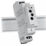 Relė laiko, modulinė, 16A, 12-240V AC/DC, 0,1s-10 d., 1P perjungiami, CRM-2H, ETI 02470003