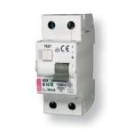 Relė nuotėkio su išjungikliu, 2P, 25A, 30mA+C, 10kA, KZS-2M, ETI 02173126 Dc leakage relay
