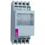 Relė skaitmeninė programuojama, modulinė, 16A, 230V AC, IP20, LCD ekranas, (astronominis laikrodis), ASTROCLOCK-2, ETI 02472051 Citi reed relays