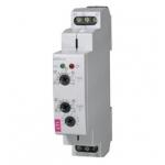 Relė skysčio lygio kontrolės, modulinė, 8A, 24-240V AC/DC, apkrovos ribos 1,6-16A, 1P perjungiančios, IP40, HRH-5, ETI 002471715