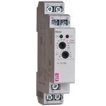 Relė srovės kontrolės, modulinė, 8A, 24-240V AC/DC, apkrovos ribos 1,6-16A, 1P perjungiančios, 1F tinklo srovės kontrolė, PRI-51/16, ETI 02470019, PRI-51/16A