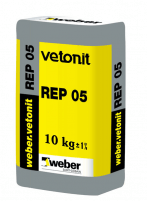 Repair mortar weber.vetonit REP 05 25 kg Special concrete mixes