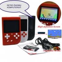 Retro klasikinis nešiojamas žaidimų kompiuteris Lavinimo žaislai