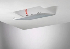 Knauf Alutop Access Panels Revo standart 500x500/12.5mm (0,25 kv. m) Gypsum plasterboards (kke)