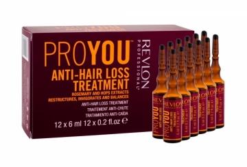 Revlon ProYou Anti Hair Loss Treatment Cosmetic 12x6ml Plaukų stiprinimo priemonės (fluidai, losjonai, kremai)
