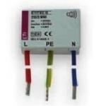 Ribotuvas viršįtampių, mini (mont. inst. dėž.), D klasės, 255/3, ETITEC D MINI, ETI 02441632 Citi reed relays