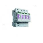 Ribotuvas viršįtampių, modulinis, B+C klasės, 275/12,5 F 4+0, 4mod., 4P, ETITEC B...F, ETI 02440151