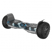 Riedis Winter army camo with rugged tires. 8.5 Riedžiai (Segway)