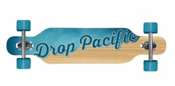 Riedlentė DROP PACIFIC longboard Skateboards