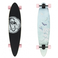 Riedlentė Longboard Fish Butterfly 40 Skateboards