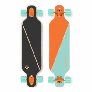 """Skrituļdēlis Longboard Street Surfing Freeride – Nordic Orange 39"""""""