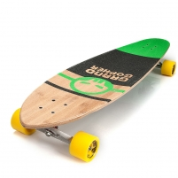 Riedlentė METEOR green-black Skateboards