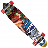 Riedlentė Spokey PIN-UP 2 Skateboards