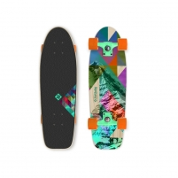 "Riedlentė Street Surfing Rocky Mountain 28"" Mini Longboard Skateboards"