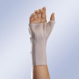 Riešo ir nykščio įtvaras Orliman MFP-180, M/2 dydis Sporto medicina