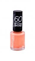 Rimmel London 60 Seconds Nail Polish By Rita Ora Cosmetic 8ml 408 Peachella Dekoratīvā kosmētika nagiem