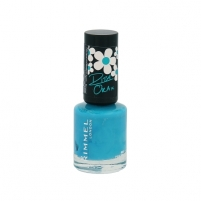 Rimmel London 60 Seconds Nail Polish By Rita Ora Cosmetic 8ml 880 Port-A-Loo-Blue Dekoratyvinė kosmetika nagams