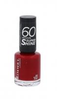 Rimmel London 60 Seconds Super Shine Nail Polish Cosmetic 8ml 320 Rapid Ruby Dekoratyvinė kosmetika nagams