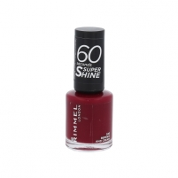 Rimmel London 60 Seconds Super Shine Nail Polish Cosmetic 8ml 340 Berries And Cream
