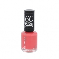 Rimmel London 60 Seconds Super Shine Nail Polish Cosmetic 8ml 405 Rose Libertine Decorative cosmetics for nails