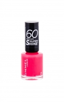 Rimmel London 60 Seconds Super Shine Nail Polish Cosmetic 8ml 407 Hot Tropicana Dekoratyvinė kosmetika nagams